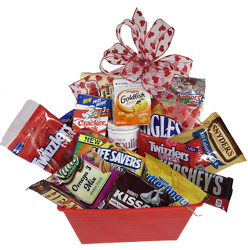 Snack Attack Bucket    from Parkway Florist in Pittsburg PA