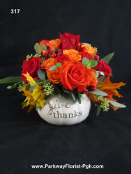 Give Thanks! from Parkway Florist in Pittsburgh PA