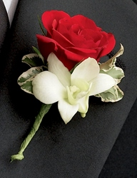Love Everlasting Boutonniere from Parkway Florist in Pittsburgh PA