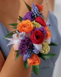 Garden Splendor Wrist Corsage from Parkway Florist in Pittsburgh PA