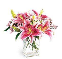 Lily Bouquet from Parkway Florist in Pittsburg PA
