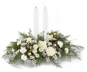 Wintergarden Candle Centerpiece from Parkway Florist in Pittsburgh PA