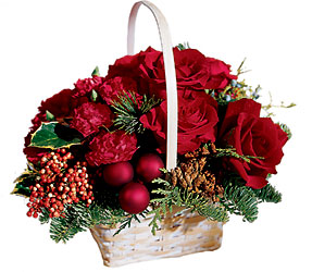 Holiday Garden Basket from Parkway Florist in Pittsburgh PA