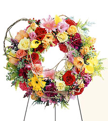 Ring of Friendship Wreath from Parkway Florist in Pittsburg PA