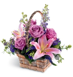 Softly Summer Basket from Parkway Florist in Pittsburg PA