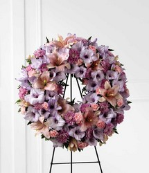 The FTD Sleep in Peace(tm) Wreath from Parkway Florist in Pittsburg PA