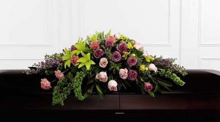 The FTD Forever Beloved(tm) Casket Spray from Parkway Florist in Pittsburg PA