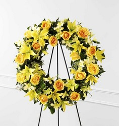 The FTD Ring of Friendship(tm) Wreath from Parkway Florist in Pittsburgh PA