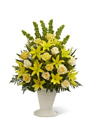 The FTD Golden Memories(tm) Arrangement from Parkway Florist in Pittsburgh PA