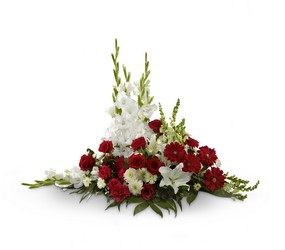 The FTD Crimson & White(tm) Arrangement from Parkway Florist in Pittsburgh PA