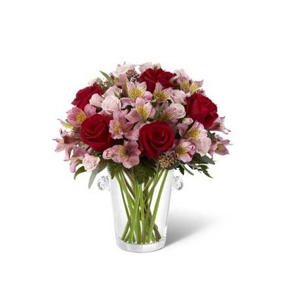 The FTD Graceful Wishes Bouquet by Vera Wang