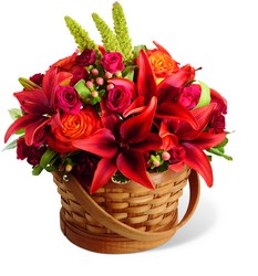 The Abundant Harvest Basket from Parkway Florist in Pittsburgh PA