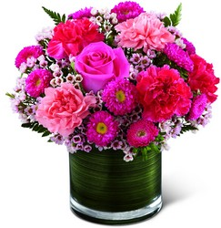 The FTD Pink Pursuits Bouquet  from Parkway Florist in Pittsburg PA