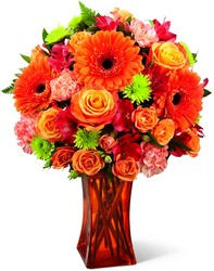 The Orange Escape Bouquet from Parkway Florist in Pittsburgh PA