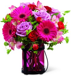 Pink Exuberance from Parkway Florist in Pittsburg PA