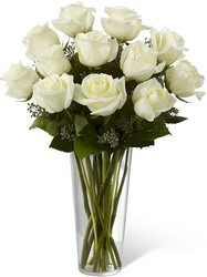 The White Rose Bouquet from Parkway Florist in Pittsburgh PA