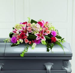 The FTD Splendid Grace Casket Spray from Parkway Florist in Pittsburgh PA