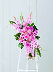 The FTD Sweet Farewell Standing Spray from Parkway Florist in Pittsburg PA