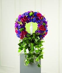 The FTD Faith & Understanding Wreath from Parkway Florist in Pittsburg PA