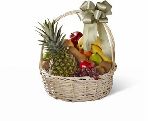 The FTD Sincerest Sympathy Gourmet Basket from Parkway Florist in Pittsburgh PA