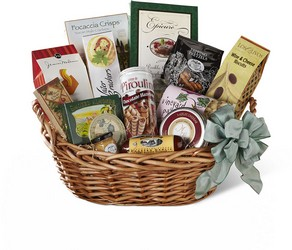 The FTD Warmth & Comfort Gourmet Basket from Parkway Florist in Pittsburgh PA