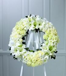 The FTD Wreath of Remembrance from Parkway Florist in Pittsburgh PA