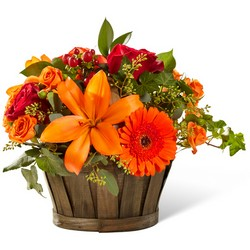 The FTD Harvest Memories Basket from Parkway Florist in Pittsburgh PA