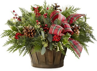 The FTD Holiday Homecomings Basket from Parkway Florist in Pittsburgh PA
