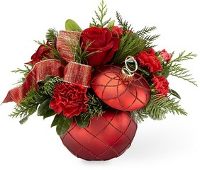 The FTD Christmas Magic Bouquet from Parkway Florist in Pittsburgh PA