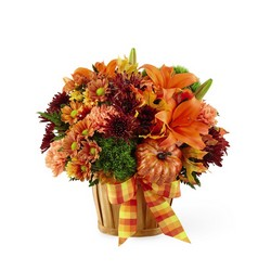 The Autumn Celebration Basket from Parkway Florist in Pittsburgh PA