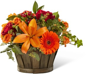 The Harvest Memories Basket from Parkway Florist in Pittsburgh PA