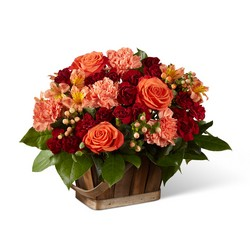 The FTD Abundant Harvest Basket from Parkway Florist in Pittsburgh PA
