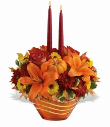 Amber Waves Centerpiece from Parkway Florist in Pittsburgh PA