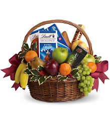Fruit and Gourmet Basket from Parkway Florist in Pittsburg PA