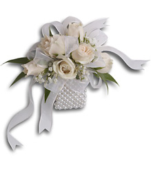 White Whisper Wristlet from Parkway Florist in Pittsburgh PA