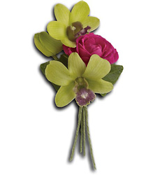 Orchid Celebration Boutonniere from Parkway Florist in Pittsburgh PA