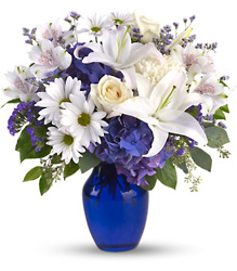 Beautifully Blue in Pittsburgh from Parkway Florist in Pittsburg PA