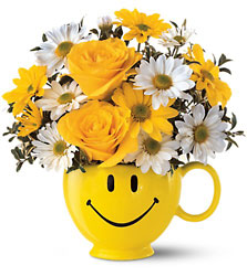 Be Happy Bouquet from Parkway Florist in Pittsburg PA